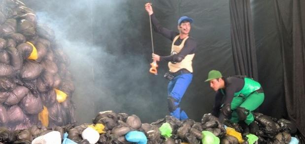 Projeto em PE propõe reflexão sobre lixo, utilizando arte e tecnologia