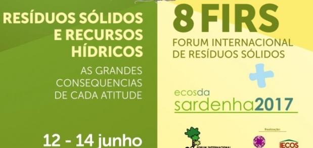 8º FIRS - ECOS DA NATUREZA CONFIRMA SUA PARTICIPAÇÃO NO FÓRUM INTERNACIONAL DE RESÍDUOS SÓLIDOS