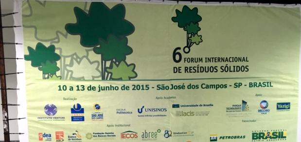 Ecos da Natureza participa do 6º Fórum Internacional de Resíduos Sólidos