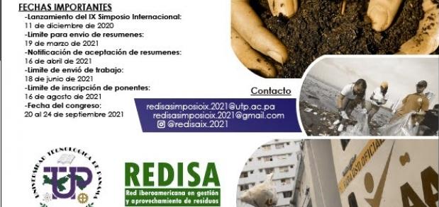 IX Simposio Iberoamericano de Engenharia de Residuos